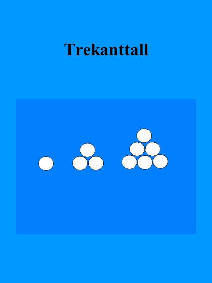 Trekanttall