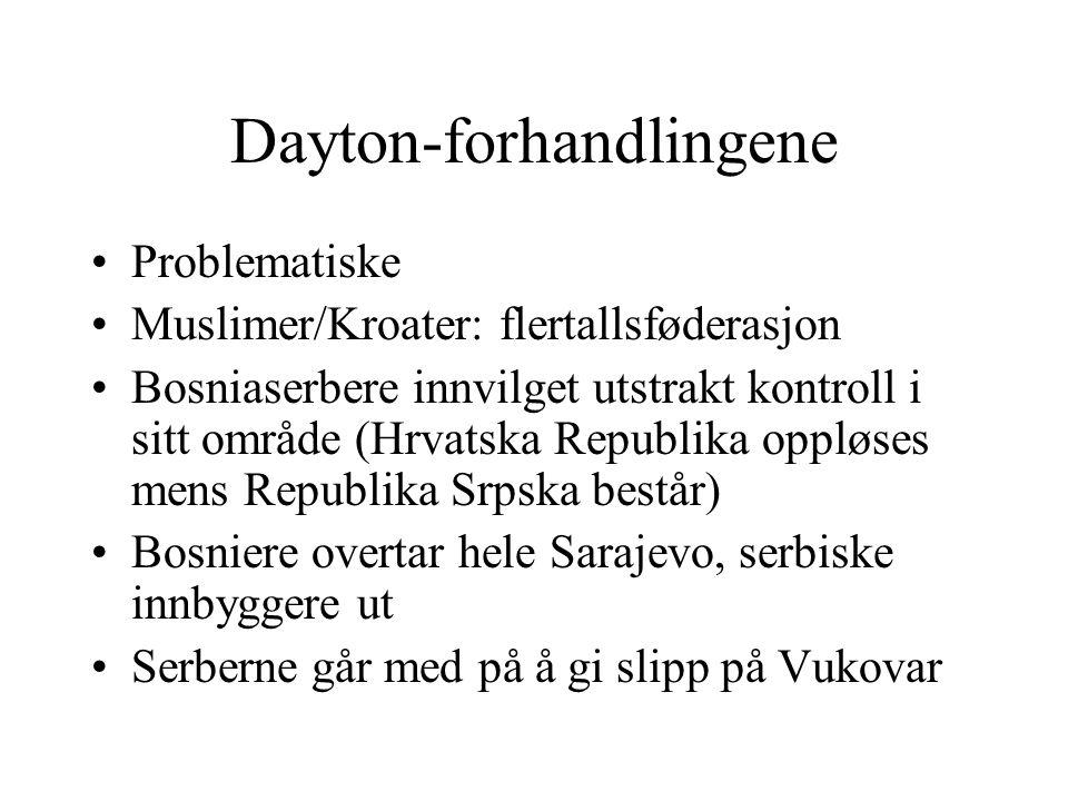 Dayton-forhandlingene