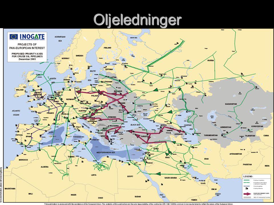 Oljeledninger