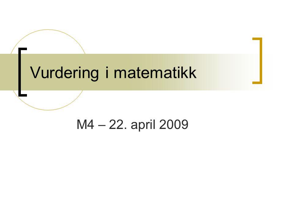 Vurdering i matematikk