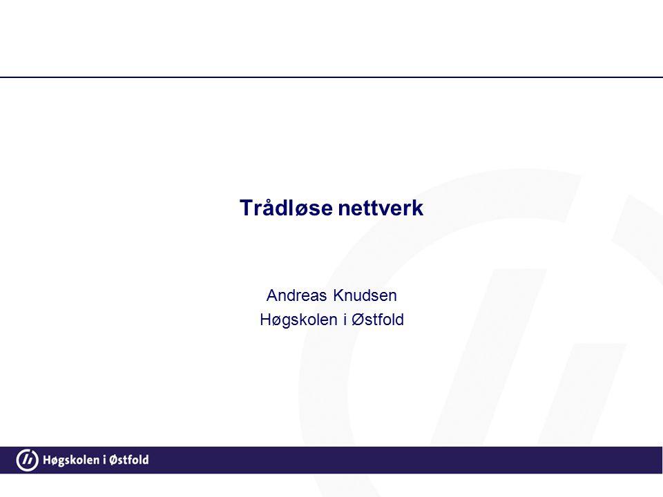 Andreas Knudsen Høgskolen i Østfold