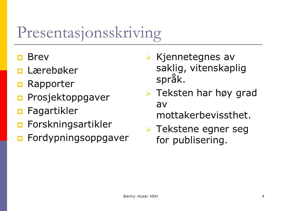 Presentasjonsskriving