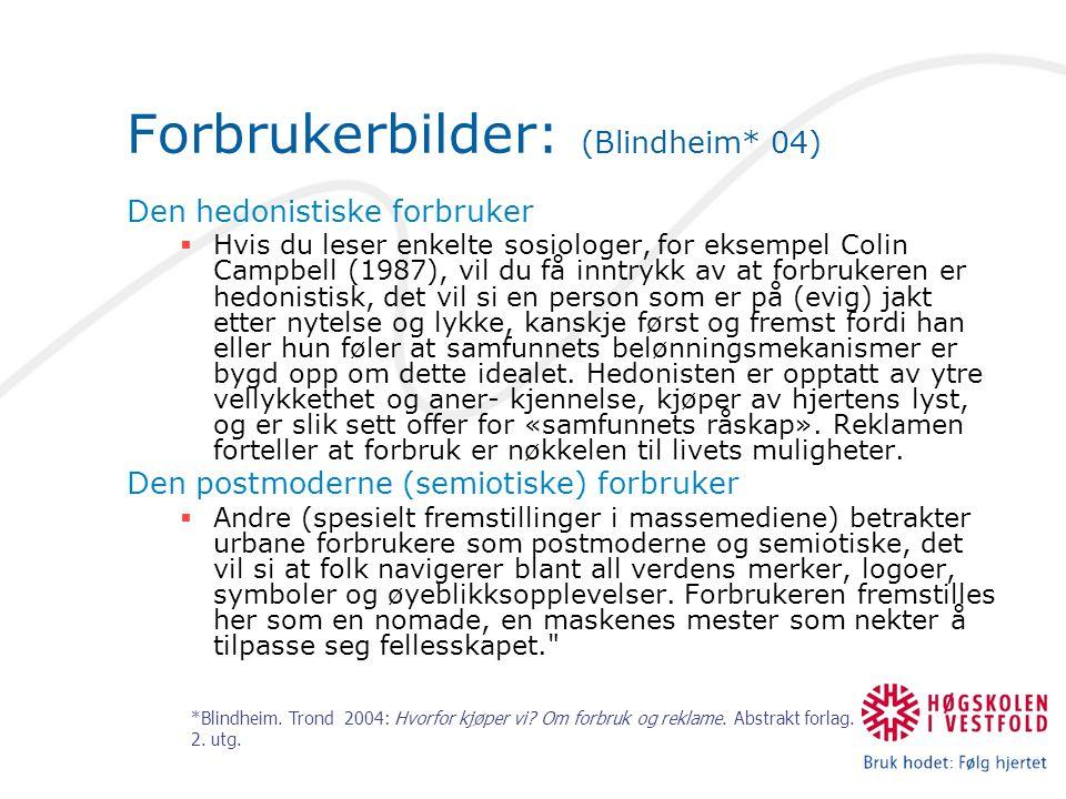 Forbrukerbilder: (Blindheim* 04)