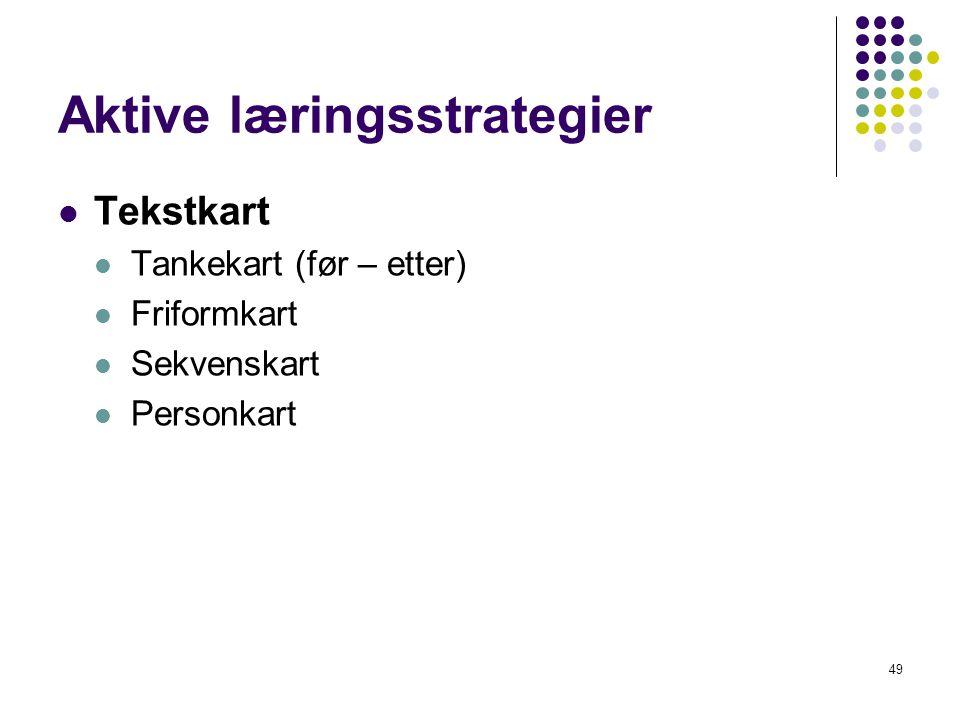 Aktive læringsstrategier
