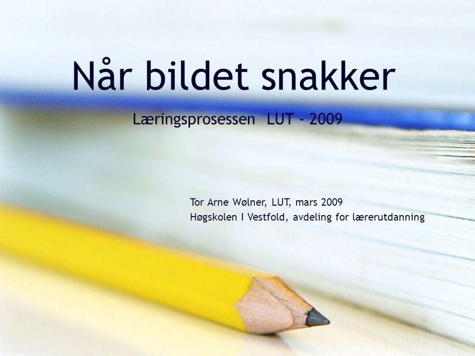Når bildet snakker Læringsprosessen LUT - 2009