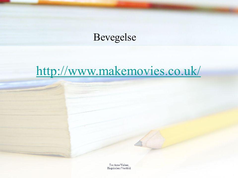 http://www.makemovies.co.uk/ Bevegelse