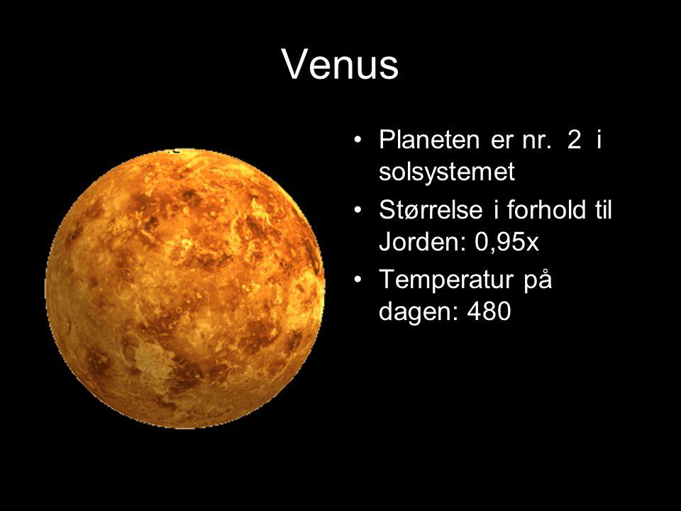 Venus Planeten er nr. 2 i solsystemet