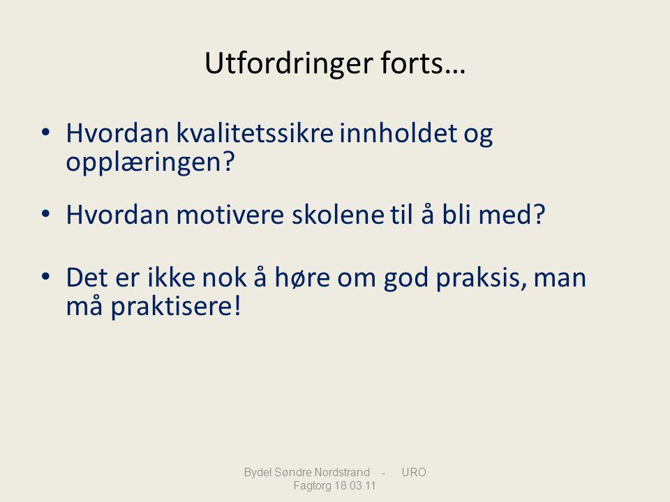 Bydel Søndre Nordstrand - URO