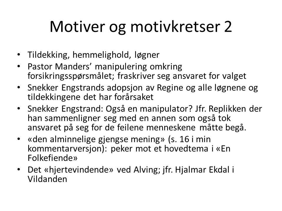 Motiver og motivkretser 2