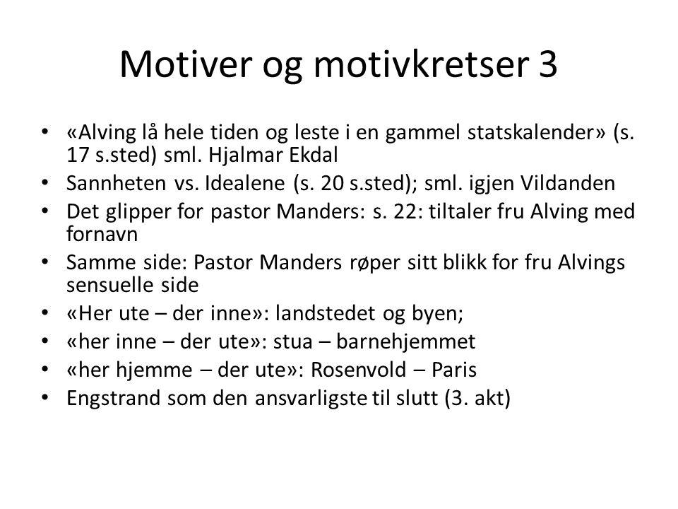 Motiver og motivkretser 3