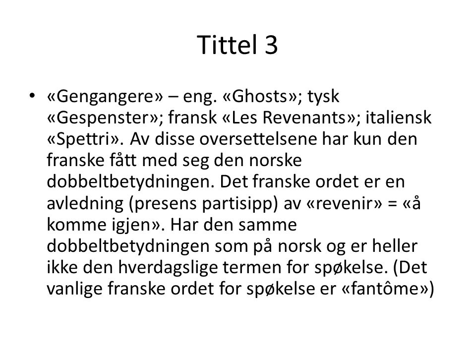 Tittel 3