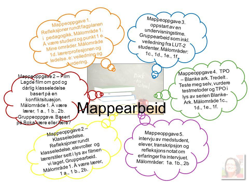 Mappeoppgave 2 – Klasseledelse.