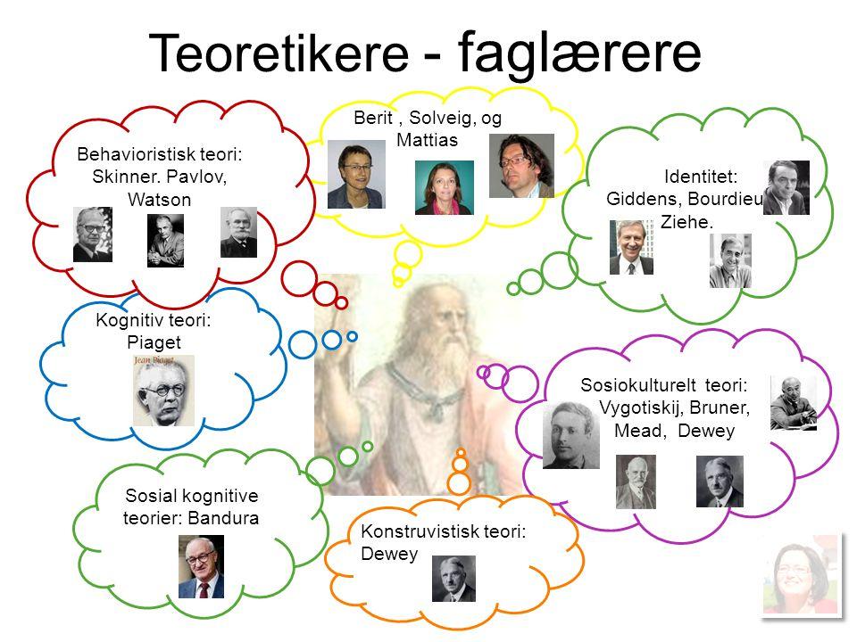 Teoretikere - faglærere
