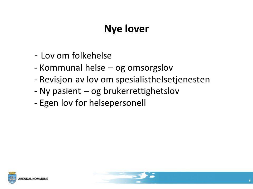 Nye lover