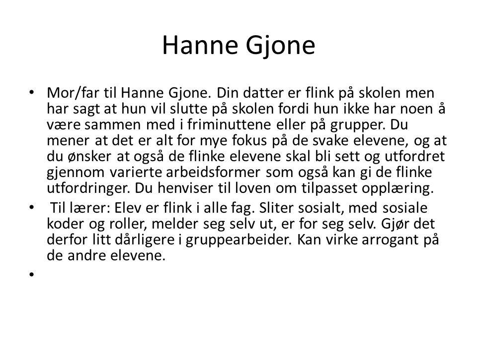 Hanne Gjone