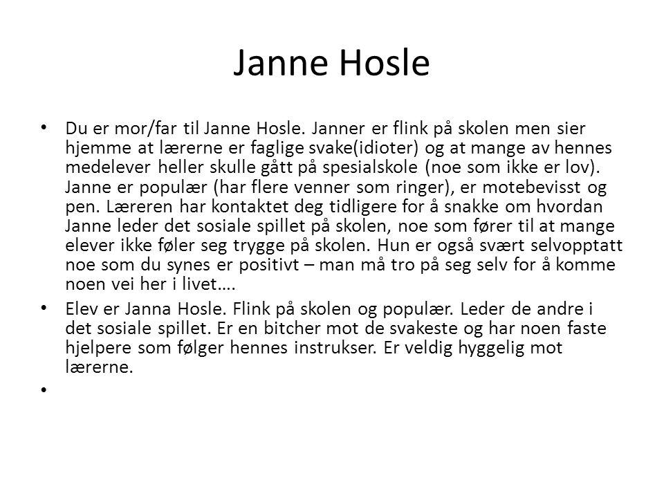 Janne Hosle