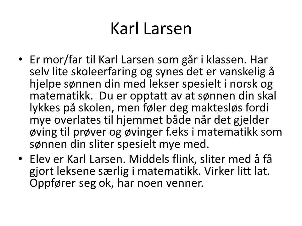 Karl Larsen