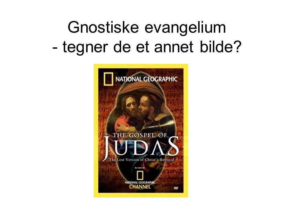 Gnostiske evangelium - tegner de et annet bilde