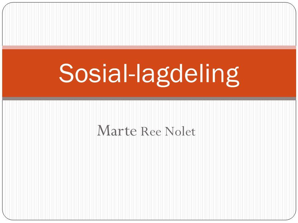 Sosial-lagdeling Marte Ree Nolet