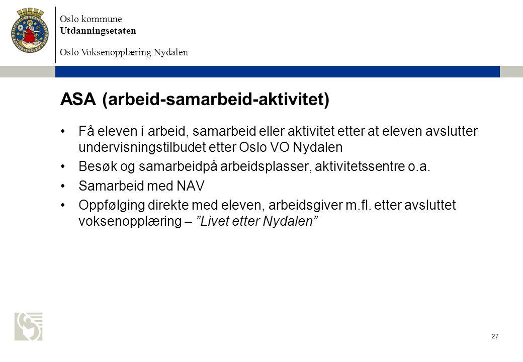 ASA (arbeid-samarbeid-aktivitet)