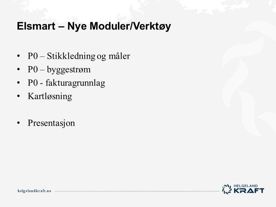 Elsmart – Nye Moduler/Verktøy