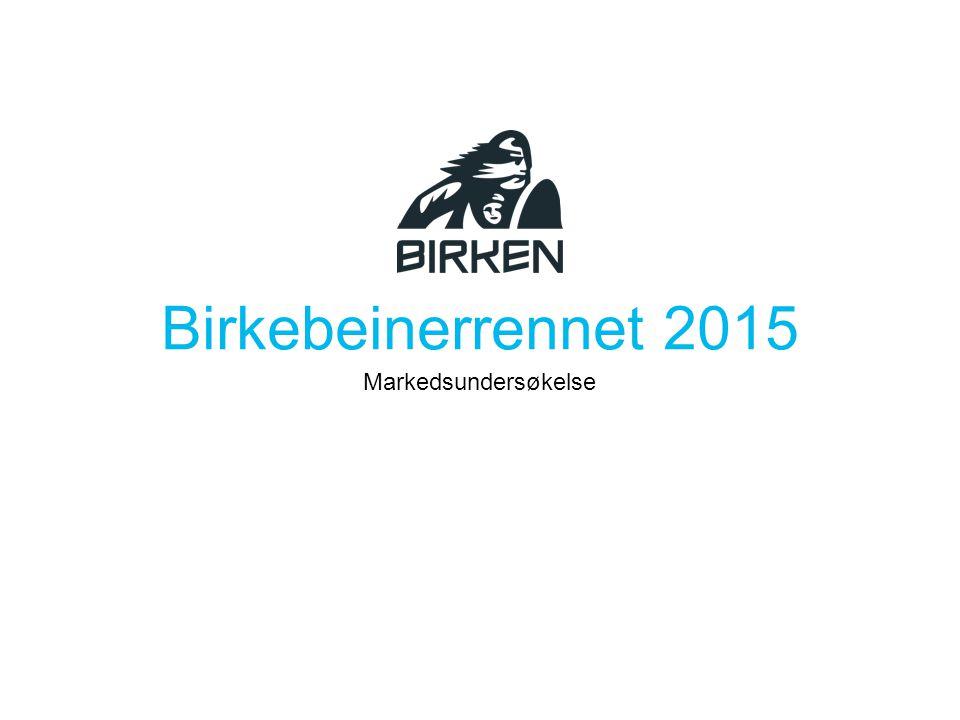 Birkebeinerrennet 2015 Markedsundersøkelse