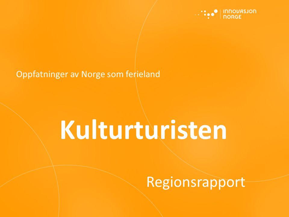 Oppfatninger av Norge som ferieland