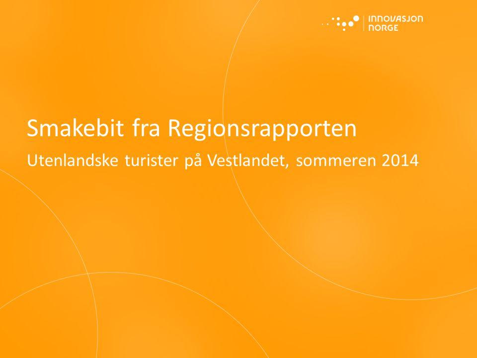 Smakebit fra Regionsrapporten