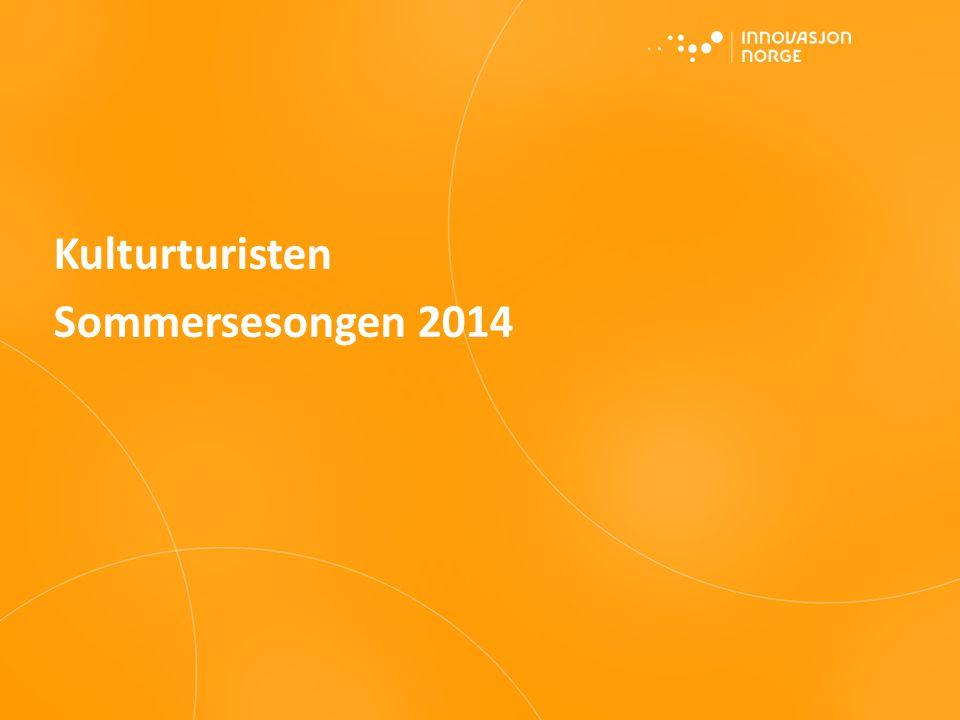 Kulturturisten Sommersesongen 2014