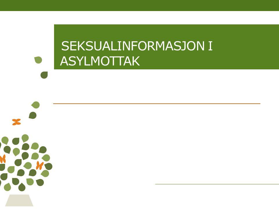 Seksualinformasjon i asylmottak