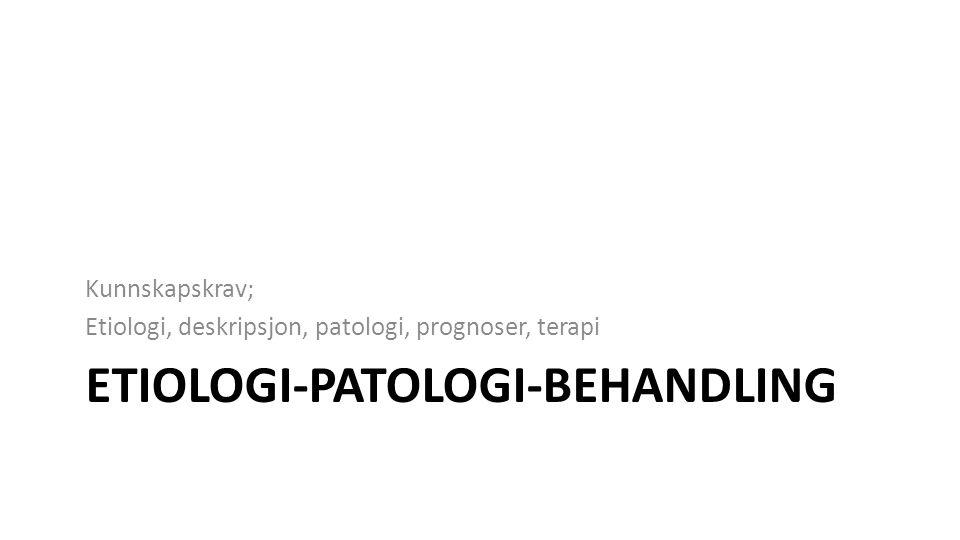 Etiologi-patologi-behandling