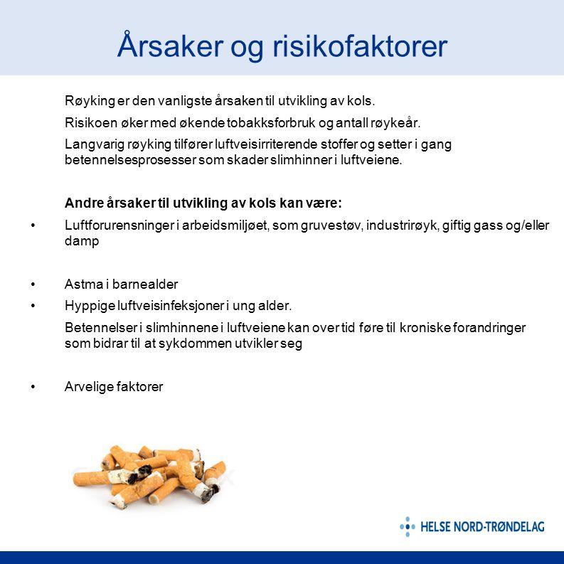 Årsaker og risikofaktorer