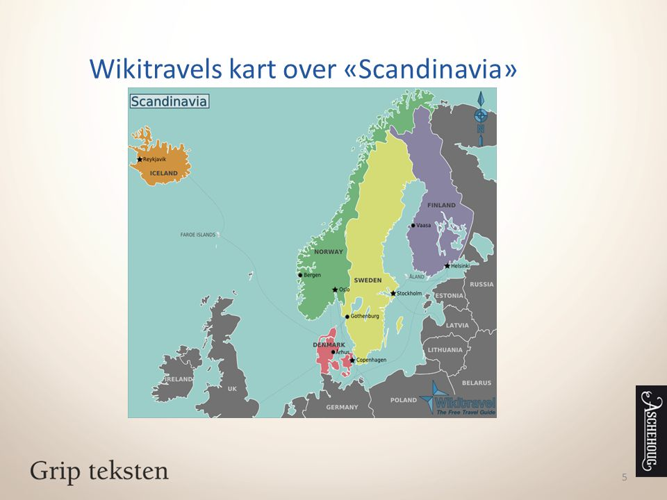 Wikitravels kart over «Scandinavia»