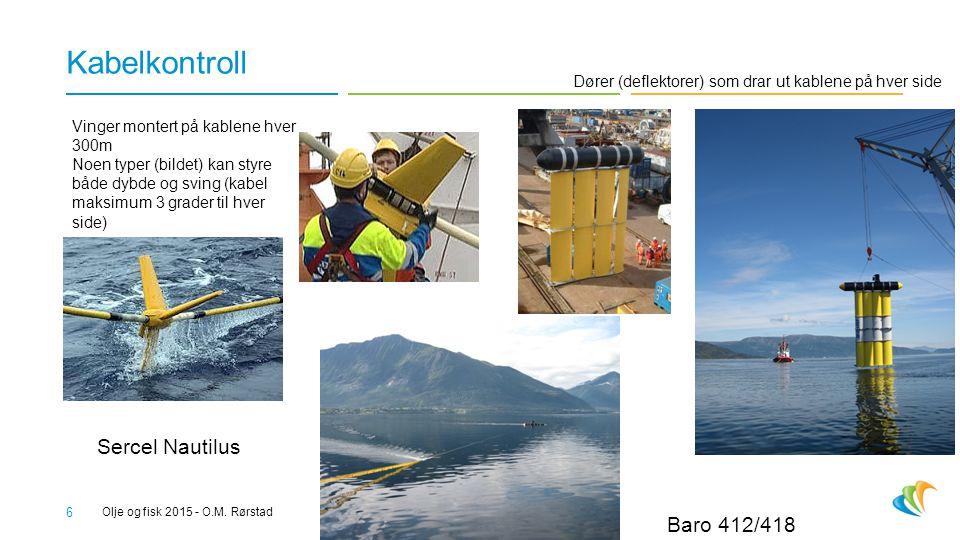 Kabelkontroll Sercel Nautilus Baro 412/418