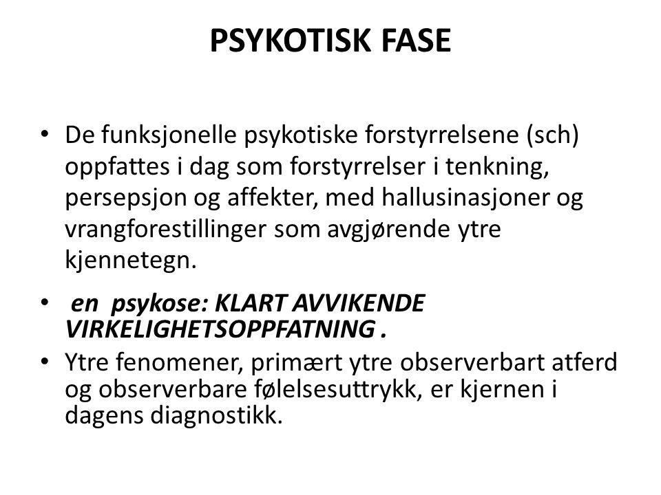 PSYKOTISK FASE