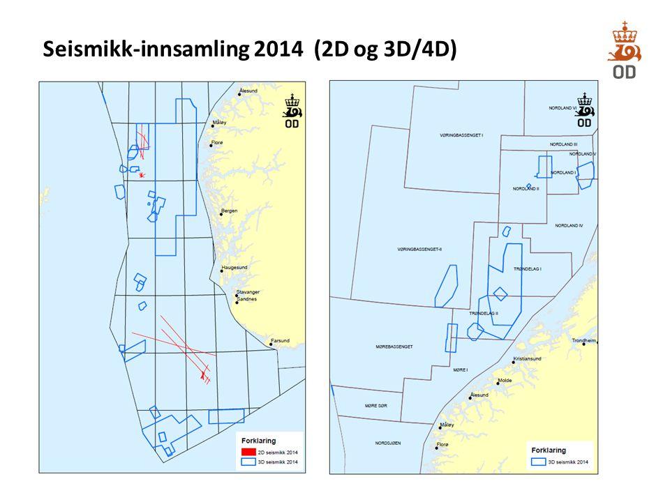 Seismikk-innsamling 2014 (2D og 3D/4D)