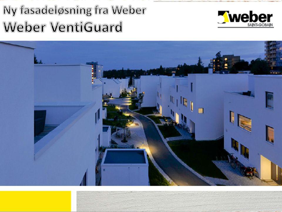 Ny fasadeløsning fra Weber