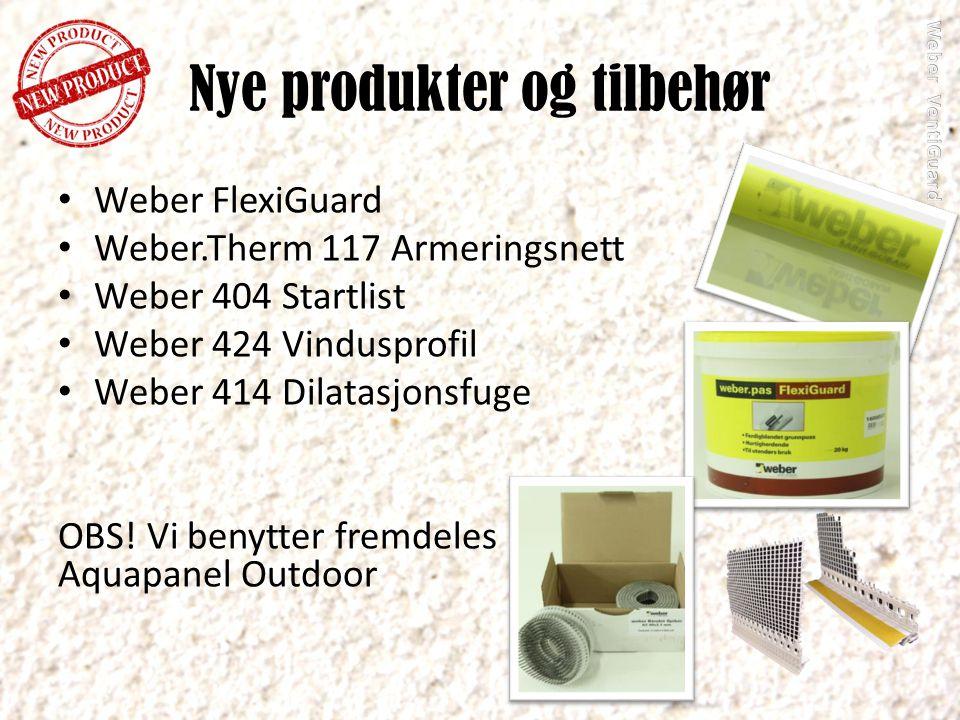 Nye produkter og tilbehør
