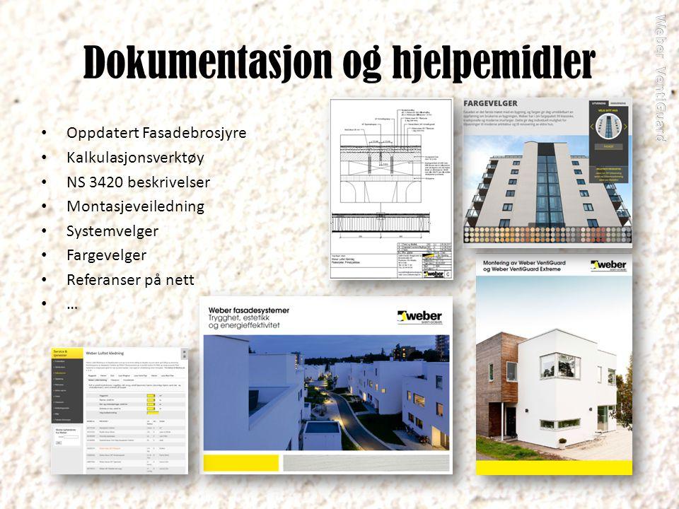 Dokumentasjon og hjelpemidler