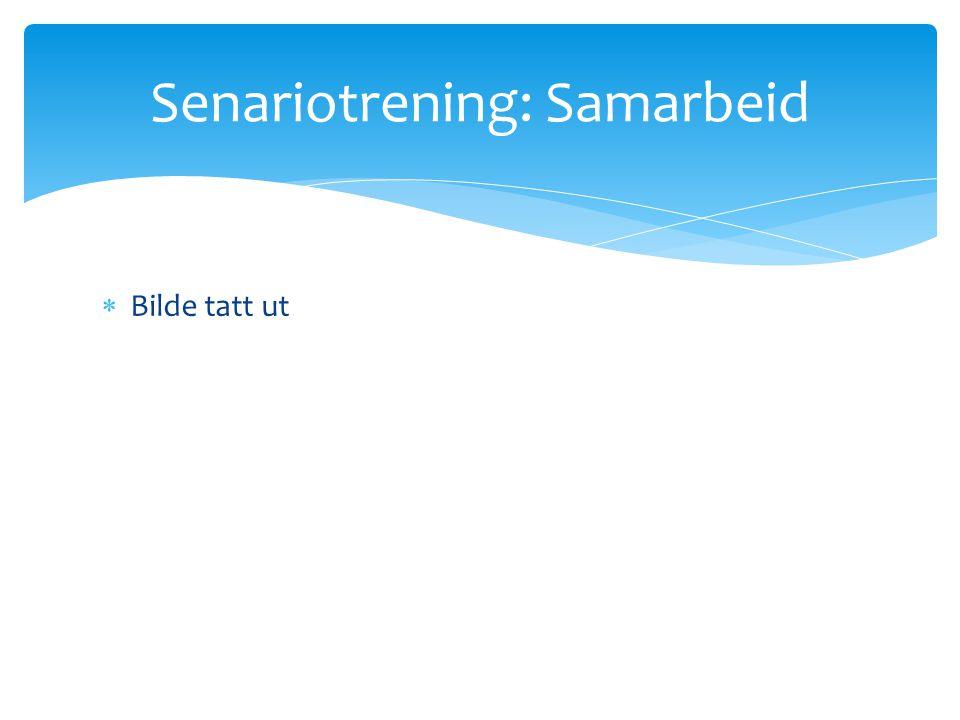Senariotrening: Samarbeid