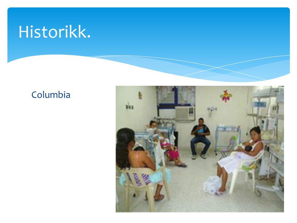 Historikk. Columbia.