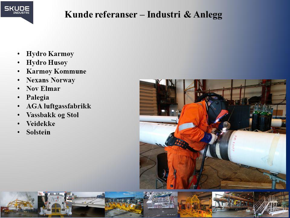 Kunde referanser – Industri & Anlegg