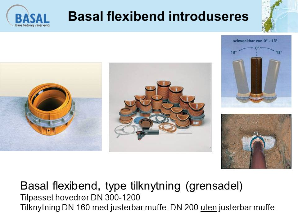 Basal flexibend introduseres