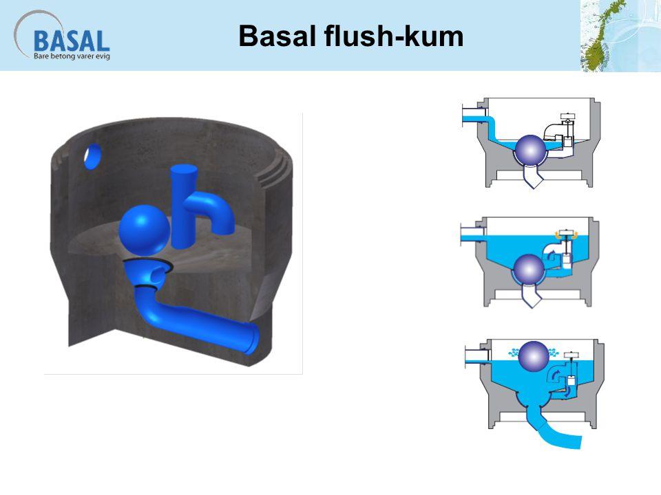Basal flush-kum