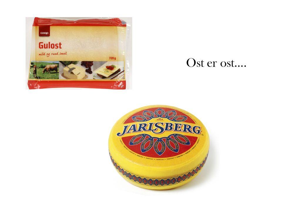 Ost er ost….