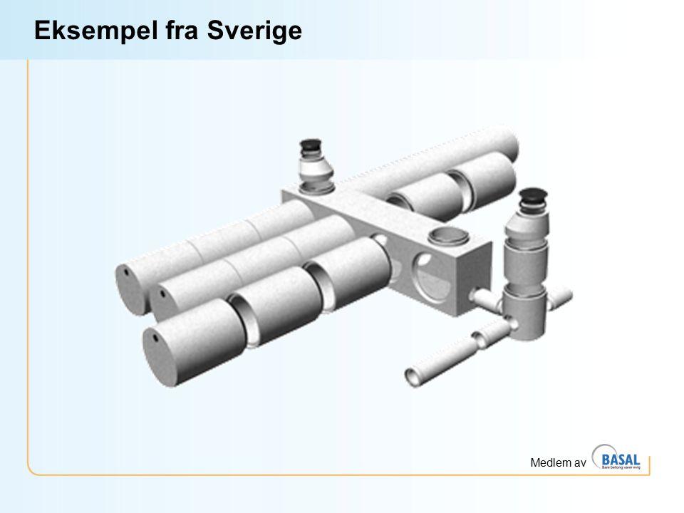 Eksempel fra Sverige En annen måte å gjøre det på dersom man har rektangulært område