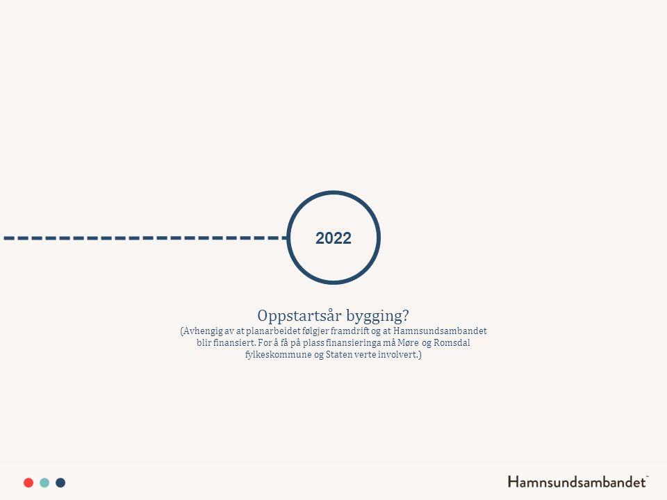 2022 Oppstartsår bygging