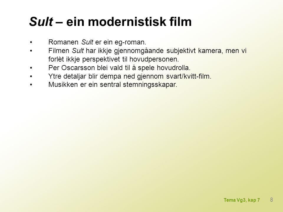 Sult – ein modernistisk film