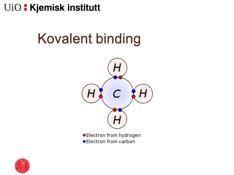 Kovalent binding