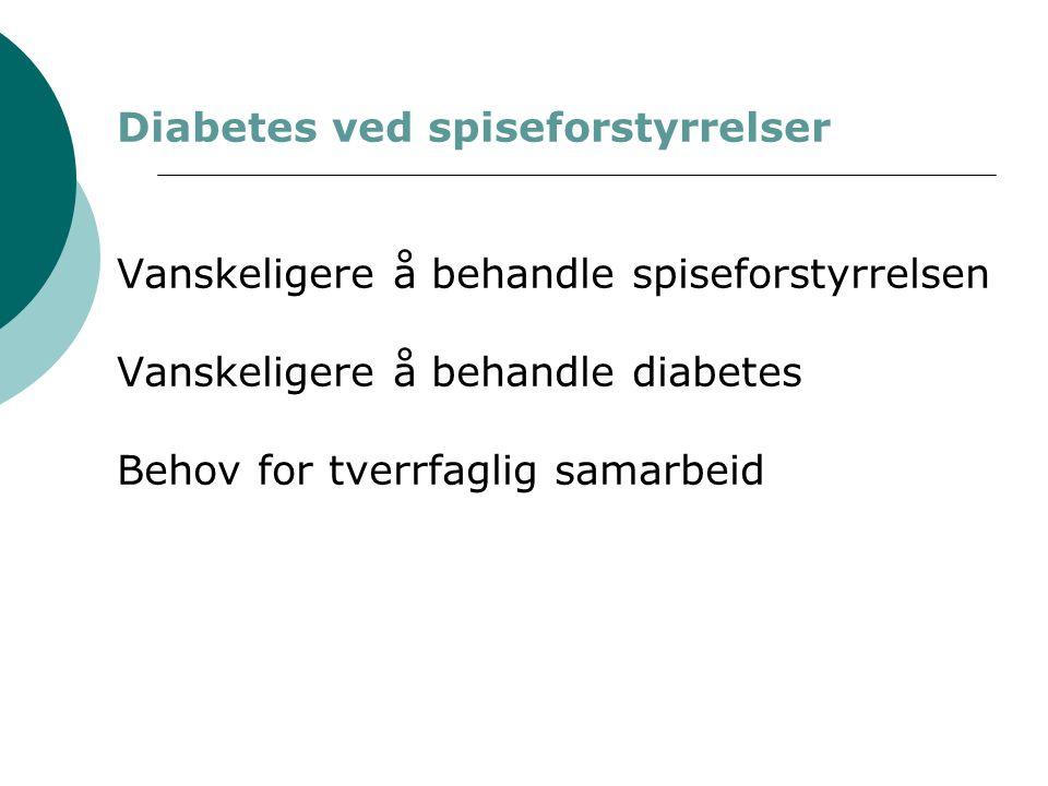 Diabetes ved spiseforstyrrelser